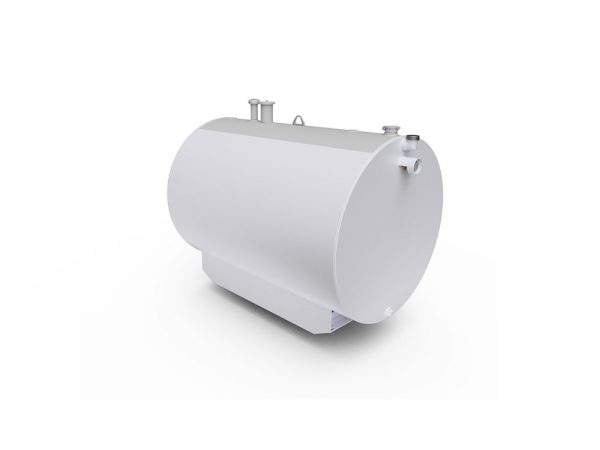 petroleum tank double white