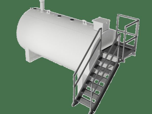 Réservoir 2000 Gal + escalier