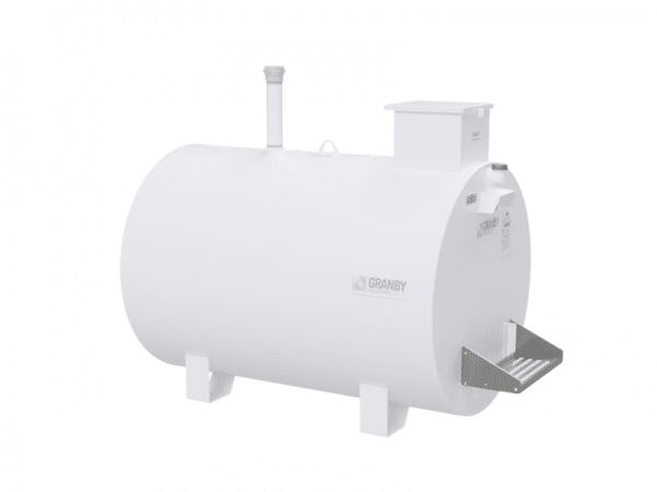 Double Wall Stationary Tank on Legs, ULC‑S652